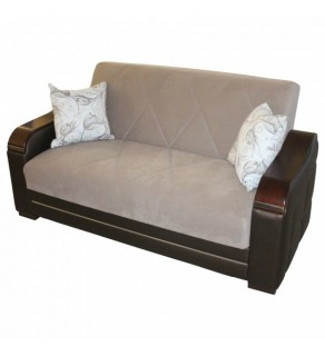 Sofa 2 pers. CARMEN LIGHT BROWN (ARIS BROWN)
