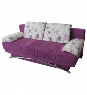 Sofa extensibil? 3 pers. FANTASY ESTERELA PURPLE