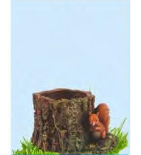 Trunchi cu veveriță