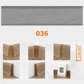 036 Plintă + Furnitură T-Plast p/u pardosea