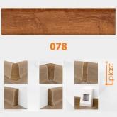 078 Plintă + Furnitură T-Plast p/u pardosea