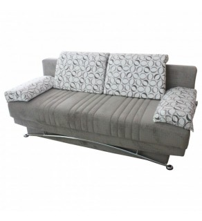 Sofa extensibil? 3 pers. FANTASY BAMBU SMOKE